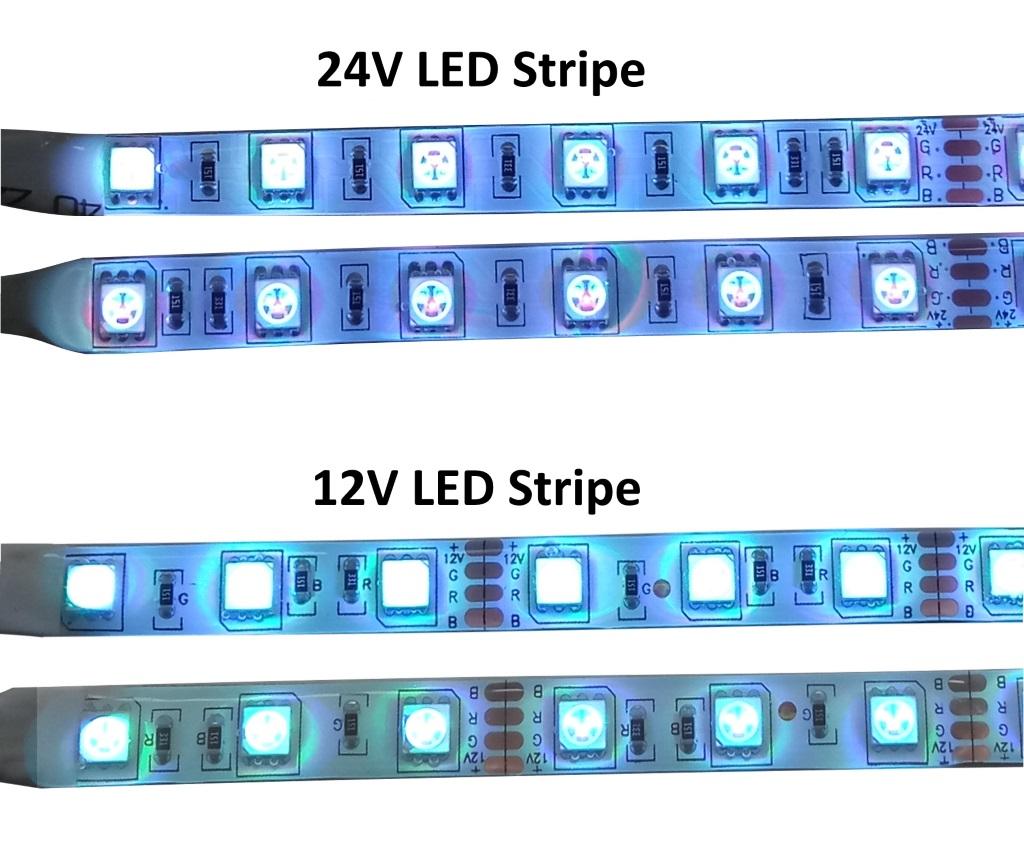 1m 30m komplettsets led stripe band schlauch funk oder infrarot steuerungen. Black Bedroom Furniture Sets. Home Design Ideas