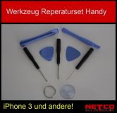 Werkzeug Reparatur Set Tool, Handy, Apple iPhone 3, 3GS, 4, 4G