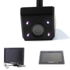 Unterbau Rückfahrkamera schwarz mit 7 Monitor