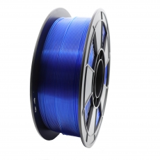 3D Filament 1,75mm PLA Transparent Blau 1kg