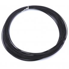 3D Filament 1,75mm PLA Schwarz 20m ca. 55g
