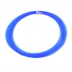 3D Filament 1,75mm PLA Transparent Blau 20m ca. 55g