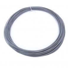 3D Filament 1,75mm PLA Grau 20m ca. 55g