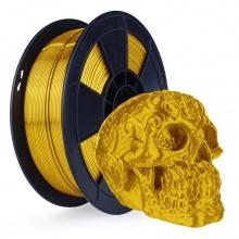 3D Filament 1,75mm PLA Silk Golden 0,5 kg