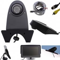 Transporterkamera schwarz mit 4,3 Monitor Standfuß