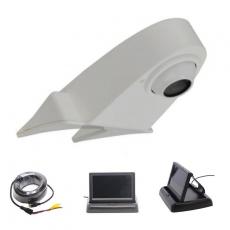 Transporterkamera weiß mit 4,3 Monitor klappbar