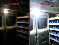 Laderaumbeleuchtung für Renault Master III & Renault Traffic