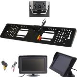 Kennzeichenkamera mit 4,3 Monitor