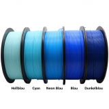3D Filament 1,75mm PLA+ Blau 1kg