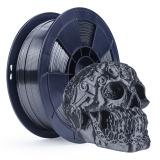 3D Filament 1,75mm PLA Seidigglänzend Grau 1kg