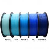 3D Filament 1,75mm PLA+ Neon Blau 1kg
