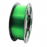 3D Filament 1,75mm PLA Transparent Grün 1kg