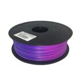 3D Filament 1,75mm PLA Farbwechsel von Blau zu Violett durch Temperatur ab 33°C  1kg