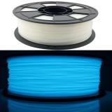 3D Filament 1,75mm ABS Leuchtet im Dunkeln Blau 1kg