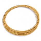 3D Filament 1,75mm PLA Golden 20m ca. 55g