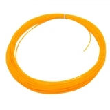 3D Filament 1,75mm PLA Orange 20m ca. 55g