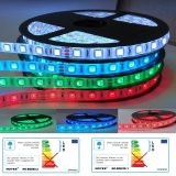 Komplettset LED Stripes RGB 12V