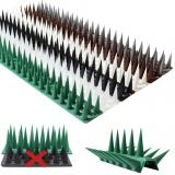 Taubenabwehr Vogelabwehr Spikes Vogelschutz hoch 5,4m lang Katzenabwehr Stachel