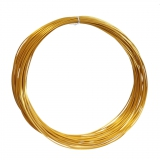 3D Filament 1,75mm PLA Silk Golden 20m ca. 55g