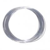 3D Filament 1,75mm PLA Silk Silber 20m ca. 55g