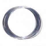 3D Filament 1,75mm PLA Silk Grau 20m ca. 55g