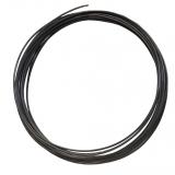 3D Filament 1,75mm PLA Dunkel Grau 20m ca. 55g