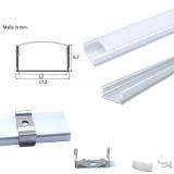 Aluminium Profil U-flach