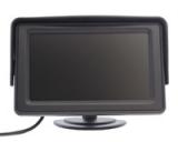 Transporterkamera weiß mit 4,3 Monitor Standfuß
