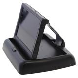 Unterbau Rückfahrkamera schwarz mit 4.3 Monitor klappbar