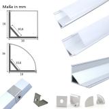 Aluminium Profil Eck 45°