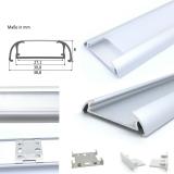 Aluminium Profil Aufbau-breit