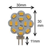 G4 LED 3W (10V-30V)